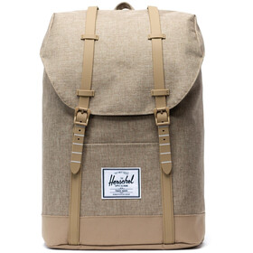 Herschel Retreat Backpack 19,5l Unisex, kelp crosshatch/kelp